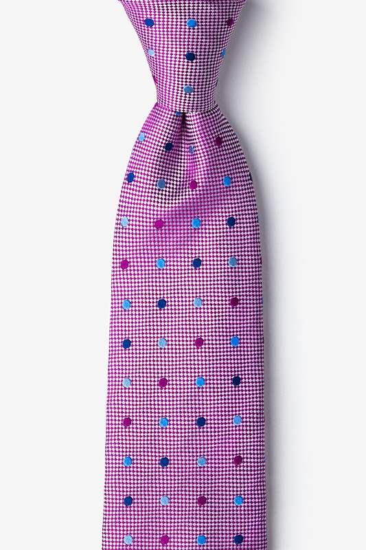 Canary Fuchsia Tie Photo (0)