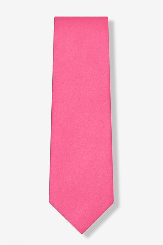 Fuchsia Extra Long Tie Photo (1)