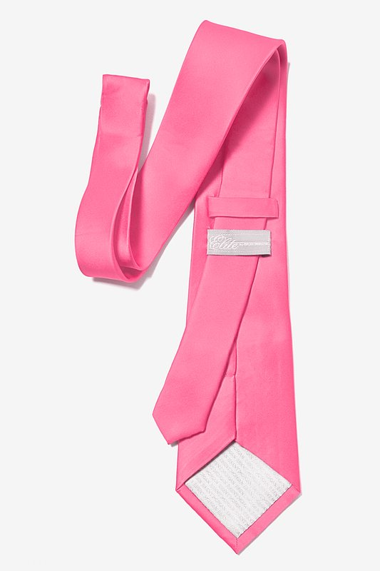 Fuchsia Extra Long Tie Photo (2)