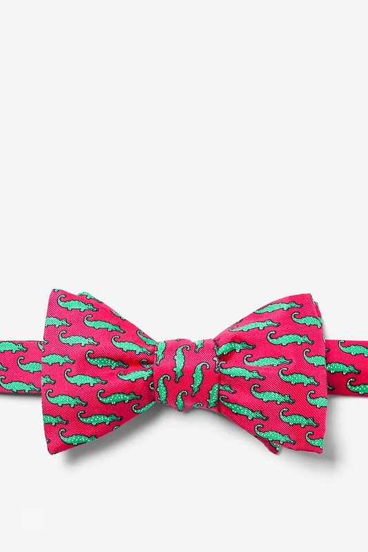 Mini Alligators Self-Tie Bow Tie Photo (0)