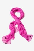 Velvet Crowns Fuchsia Scarf by Scarves.com