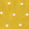 Gold Carded Cotton Dana Point Dots Sock