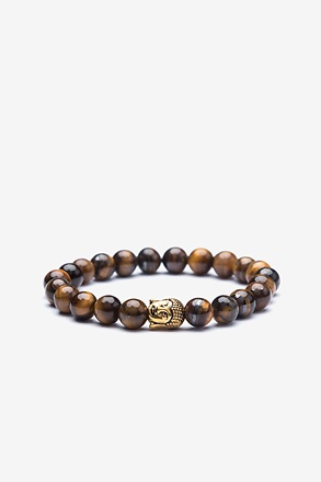 _Buddha Head Gold Bracelet_