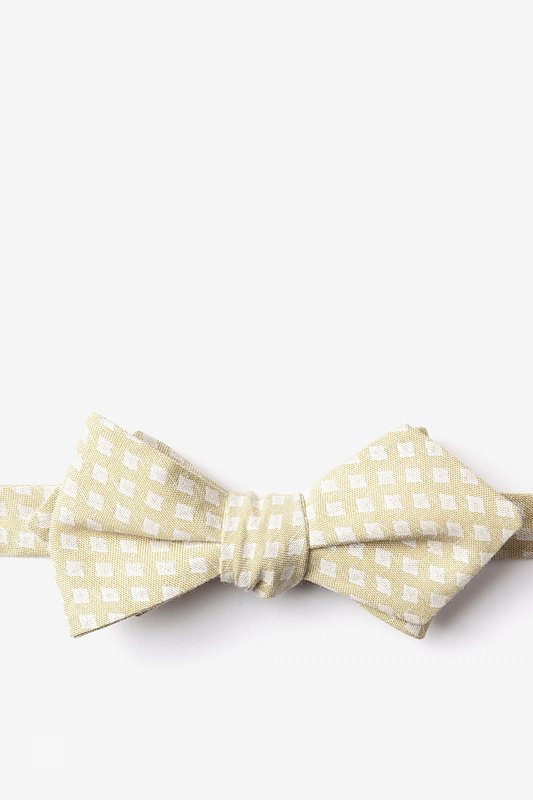 Poway Gold Diamond Tip Bow Tie Photo (0)