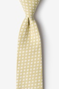 Gold Cotton Poway Tie