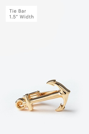 Anchor Gold Tie Bar