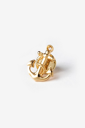 _Anchor With Rope Lapel Pin_