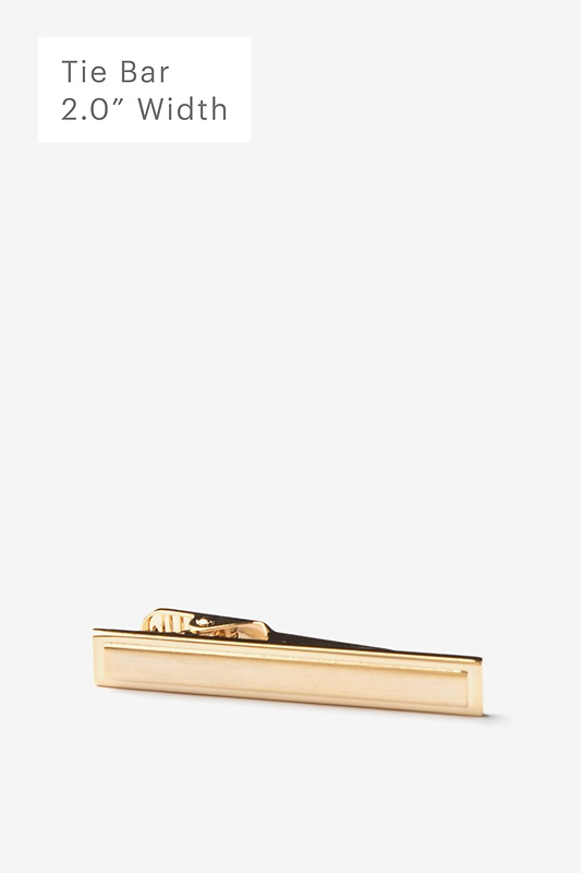 Beveled Rectangle Tie Bar