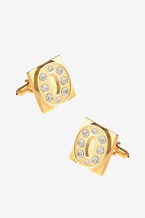 Blinged Out O Cufflinks