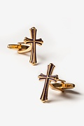 Cross Gold Cufflinks
