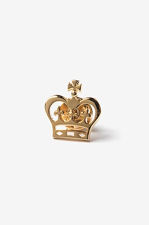 Crown Lapel Pin
