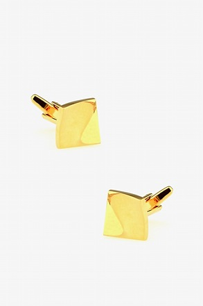 Curved Square Cufflinks