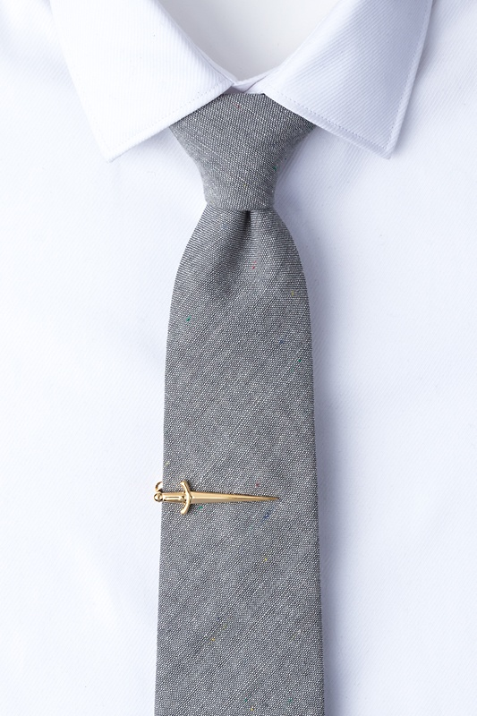Dagger Gold Tie Bar Photo (1)