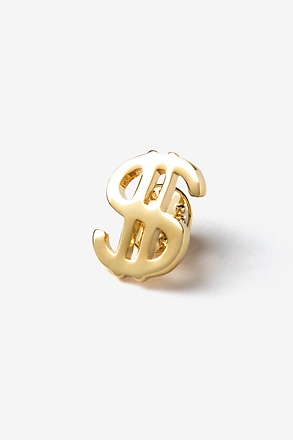 Dollar Sign Lapel Pin