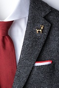 Elk Gold Lapel Pin