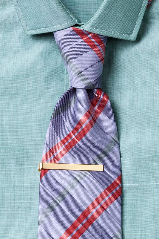 Executive Clasp Gold Tie Bar