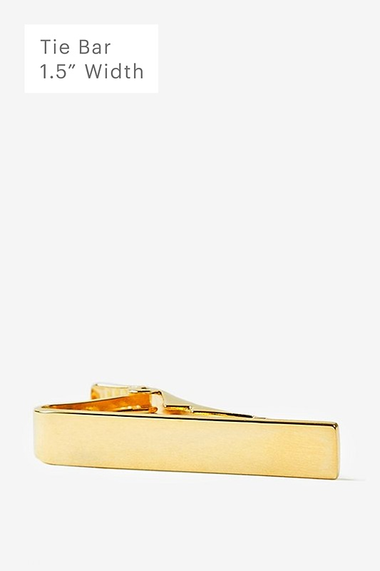 Executive Clasp Gold Tie Bar Photo (0)