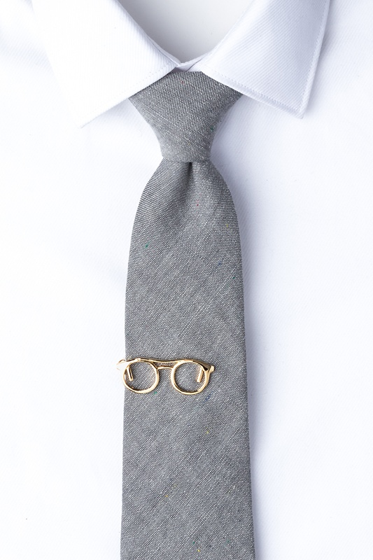 Eyeglasses Tie Bar Photo (1)
