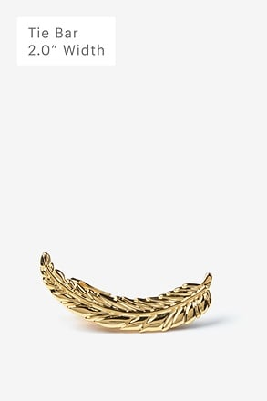 Fancy Feather Tie Bar