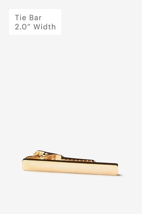 Flat Brushed Tie Bar
