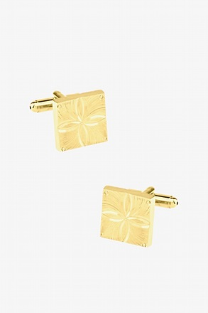 Flower of Life Square Cufflinks