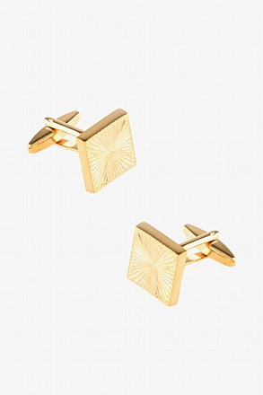 Framed Perspective Cufflinks