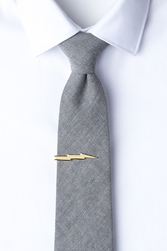 Lightning Bolt Tie Bar Photo (1)