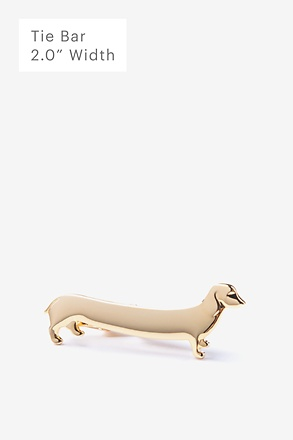 _Long Weiner Dog Tie Bar_