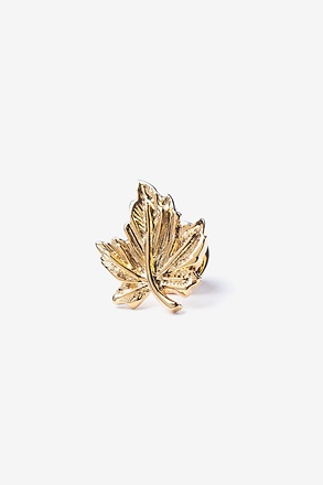 Maple Leaf Gold Lapel Pin