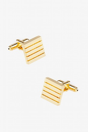 Parallel Line Square Cufflinks