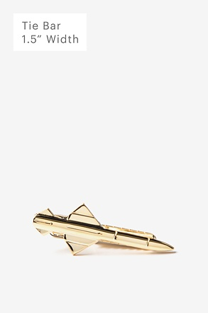 Rocket Gold Tie Bar