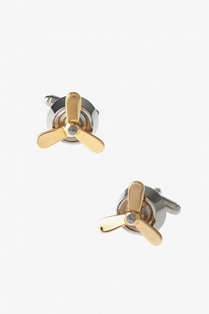 Simple Propellor Cufflinks