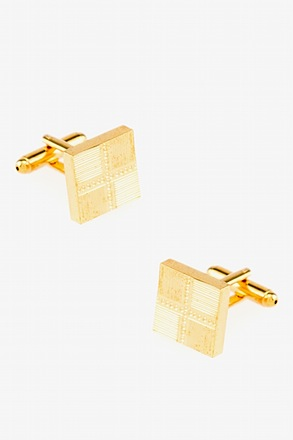 Square Crossing Cufflinks