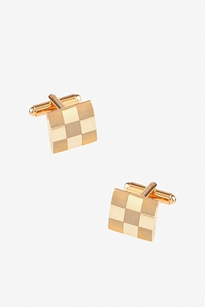 Square Monochrome Cufflinks