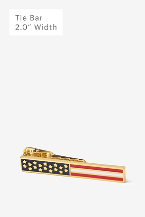 _Stars & Bars Tie Bar_