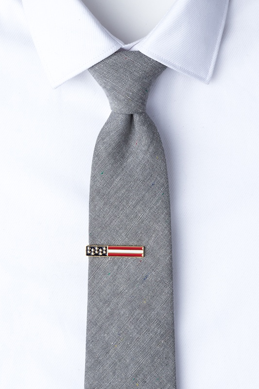 Stars & Bars Tie Bar Photo (1)