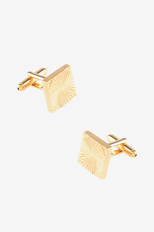 Sunburst w Screws Cufflinks Photo (0)