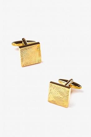 Sunray Square Cufflinks