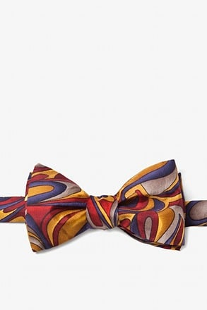_Fluid Paints Self-Tie Bow Tie_