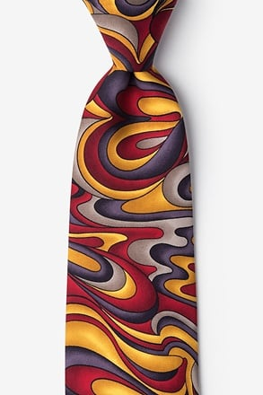 Fluid Paints Gold Tie