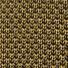 Gold Silk Classic Solid Knit Tie