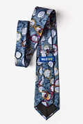 Optometrist Gray-blue Extra Long Tie Photo (2)