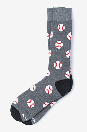 Baseball Gray Sock