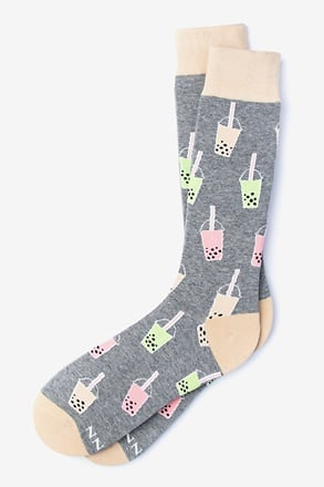 Boba Gray Sock