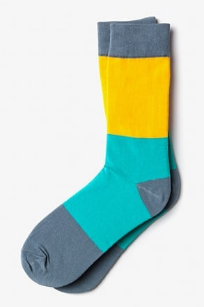 Malibu Color Block Sock