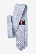 Ash Gray Extra Long Tie Photo (1)