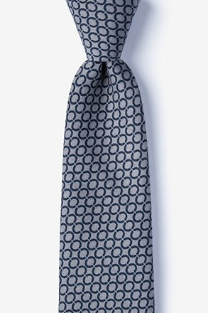 Circleville Gray Tie