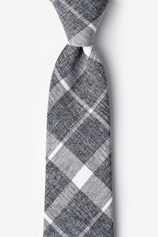 Kirkland Gray Extra Long Tie Photo (0)