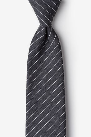 Lewisville Gray Extra Long Tie