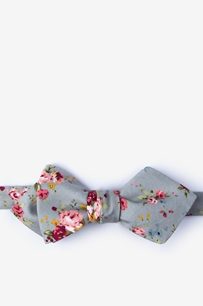 Luther Diamond Tip Bow Tie